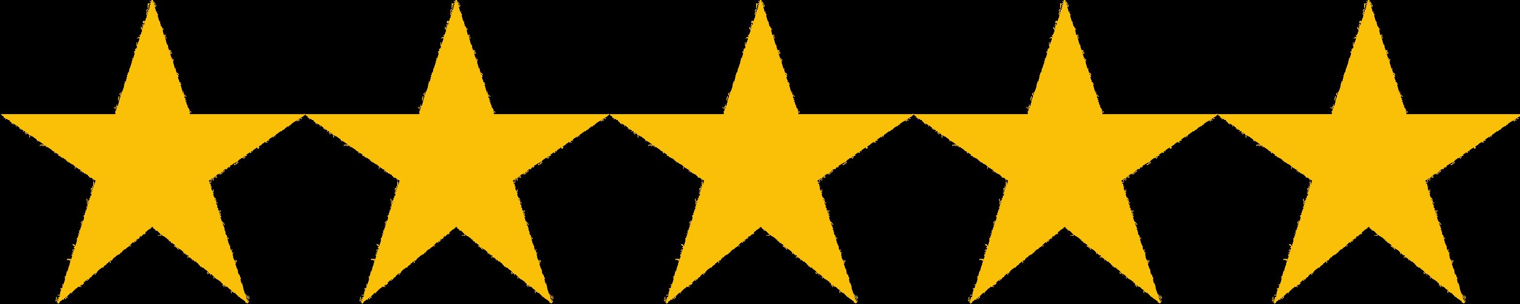 Resultado de imagem para 5 estrelas ICON PNG